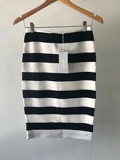 [CR LOVE] NEW! SZ XXS (6) [TRENERY BY COUNTRY ROAD] BOLD STRIPE PONTE SKIRT