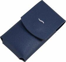 S.T. Dupont Slim 7 Leather Lighter Case Blue (183063) BRAND NEW