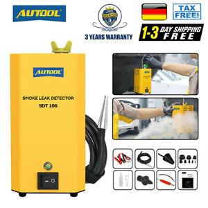 SDT106 KFZ Rauch Maschine Leck Detektor für Rohr EVAP Kühlbehälter Diagnosegerät