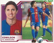 EDMILSON BRAZIL FC.BARCELONA STICKER LIGA ESTE 2008 PANINI