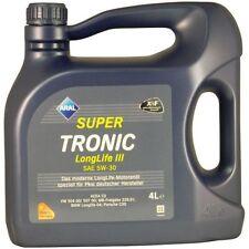 4 Liter Aral SuperTronic LongLife III 5W-30 1x4L Motoröl VW Audi Seat