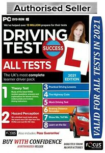 2021 Driving Theory Test Success All Tests And Hazard Perception PC DVD Rom