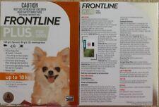 Frontline Plus 6 Pack For Dogs 0-22lbs 0-10KG Orange NIB