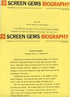 ELIZABETH MONTGOMERY DICK YORK BEWITCHED 1966 SCREEN GEMS ABC TV PRESS MATERIAL