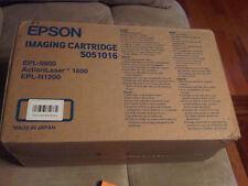New Genuine Epson Black Toner Cartridge S051016 ActionLaser 1600 EPL-5600