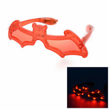 Led Colorful Lighted Halloween Glasses ( Bat ) Light Up Costume Party D?cor