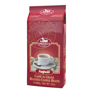 16,49€/kg Saquella Napoli Bar 1000g Espresso Kaffee Bohne TOPPRODUKT 27.07.2022