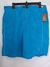 Caribbean Roundtree & Yorke 3X Big Turquoise New Mens Swimming Trunks Shorts