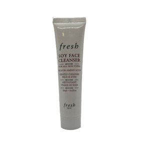 Fresh Soy Face Cleanser All Skin Types 20ml / 0.6oz Travel Sample Size New