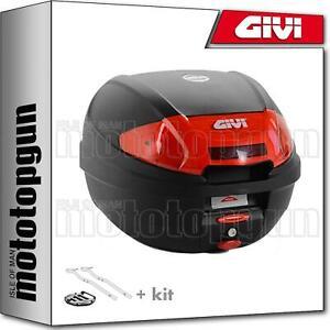 GIVI TOP CASE E300N2 + PORTE-PAQUET KAWASAKI ZRX 1200 2002 02