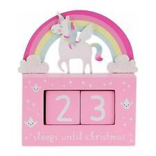 Sass & Belle Advent Calendar Block Rainbow Unicorn Girls Festive Christmas Gift