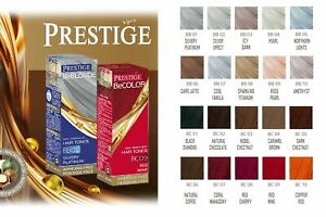 Prestige Hair Toner Semi-Permanent Colour Ammonia Peroxide Free Nourishes 100 ml