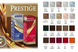 Prestige Hair Toner Semi-Permanent Colour Ammonia Peroxide Free Nourishes 100 ml