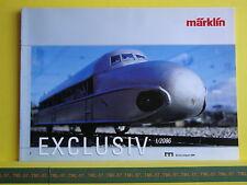 Catalogue MARKLIN Exclusiv 2006 F Séries limitées Zeppelin en 1- P8 - Neuf 10 p