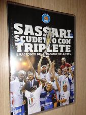 DVD BASKET SASSARI SCUDETTO CON TRIPLETE IL RACCONTO DELLA STAGIONE 2014/2015