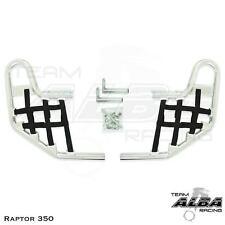 Yamaha  Raptor 350   Nerf Bars   Alba Racing     Silver Black 209 T1 SB