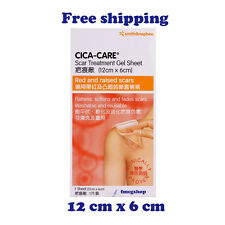 12 x 6cm Cica-Care Scar Treatment Silicone Gel Sheet Wound Reducer Self-Adhesive