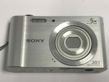 Sony DSC-W800 Cyber-shot 20.1MP Digital Camera SILVER - NOT WORKING & FOR PARTS