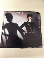 Vinyl EMI Record Sheena Easton Telefone Album Record Wish you were here tonight
