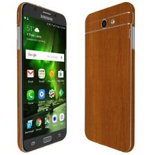 Skinomi Light Wood Skin+Clear Screen Protector For Samsung Galaxy J7 Sky Pro