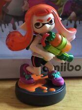 Splatoon Inkling Girl amiibo Nintendo Wii U 3DS LOOSE. NEW.