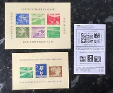 Cinderellas -Germany 1957 Bephila stamp exhibition.