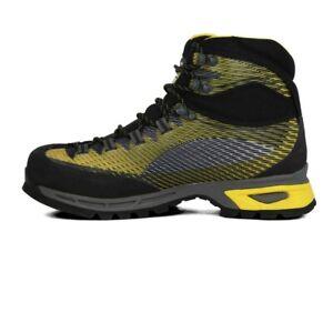 La Sportiva Mens Trango TRK Gore-Tex Walking Boots Black Yellow Sports Outdoors