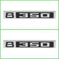 Trim Parts 9615 1969-1972 Chevrolet/GMC Truck Front Fender Emblem, 8 350, Pair