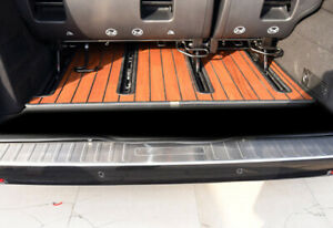 For Benz Vito W447 2014-2020 Car Rear Bumper Guard Sill Plate Protector Trim 1PC
