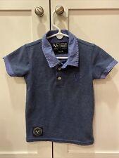 Versace Boys Blue Polo 4 4t