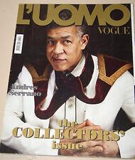 L'UOMO VOGUE MAGAZINE=2010/410=ANDRES SERRANO=THE COLLECTORS' ISSUE=