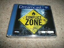 CONFLICT ZONE  - Sega Dreamcast (PAL)  Rare New & Sealed - European Version