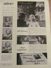 Lizabeth Scott, Woodbury Powder, Vintage Print Ad