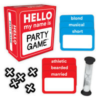 Hello My Name Is Party Game By Ceaco   Brand New!