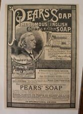 Henry Ward Beecher, Pears's Soap ad.