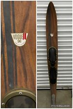 "Vintage Wooden VOGUE II Ski Water Ski 67"" inch Long Temple City, California USA"