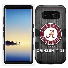 for Samsung Galaxy Note 8 Rugged Hard+Rubber Hybrid Case Alabama Crims