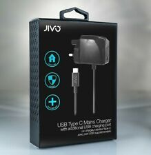 Jivo 3A Fast Wall Charger Adapter & USB-C Cable For Google Pixel 4/3/3a/2/1 & XL