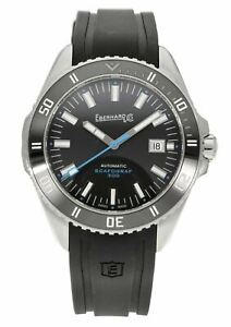 Eberhard & Co. Scafograf 300 Automatic 43mm Stainless Steel Men's Watch 41034