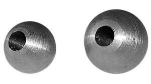 10 x Eisenkugel Kugel Ø 25 mm Loch 12,5 mm mit Bohrung geschmiedet 7721660