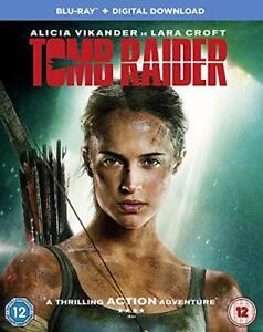 Tomb Raider [Blu-ray] [2018] [DVD][Region 2]