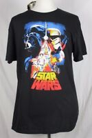 Star Wars Men's Large Darth Vader Stormtrooper T-Shirt Disney NWT New with Tags