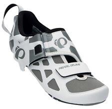 Pearl Izumi Women's Tri Fly V Carbon Triathlon Shoes White/Black - 38