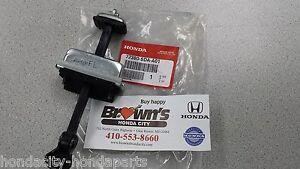 NEW GENUINE HONDA ACCORD LEFT FRONT DOOR CHECKER 2003-2007 4DR 72380-SDA-A01