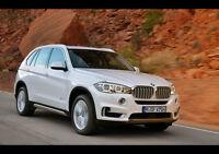 "2014 BMW X5 NEW A1 CANVAS GICLEE ART PRINT POSTER FRAMED 33.1""x23.4"""