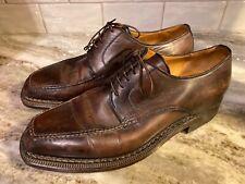 Sutor Mantellassi Men's Size 7.5 Brown Leather Oxfords 40.5