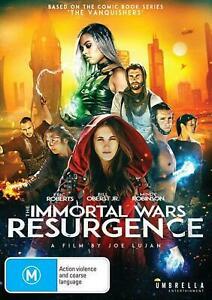 The Immortal Wars: Resurgence (DVD) NEW/SEALED [All Regions]