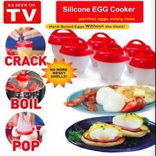 Eggletes производитель 6 шт. яйцо плита-жесткий вареные яйца без скорлупы Eggies новые