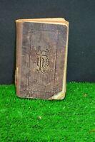 ANCIEN LIVRE MISSEL SOUVENIR DE LA MISSION 1924 BIBLE