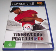 Tiger Woods PGA Tour 06 PS2 PAL *Complete* Free Post
